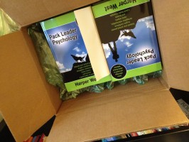 Box of Pack Leader Psychology Books