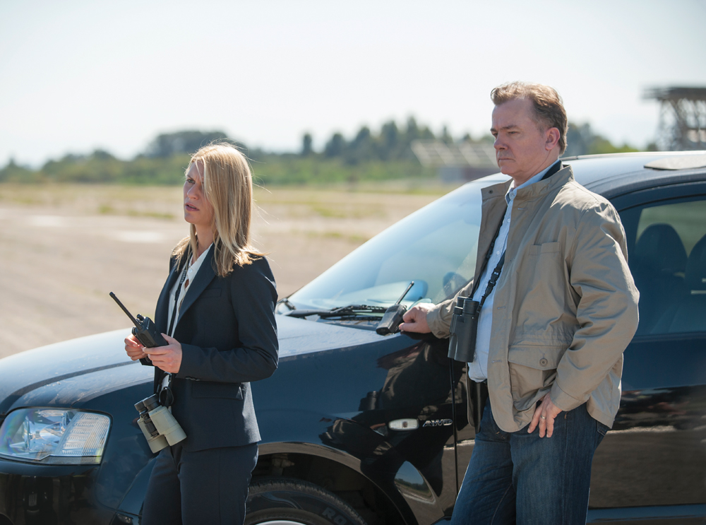 Actor Michael O'Keefe in Homeland